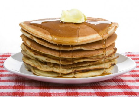 here's an AMAZINGLY YUMMY pancake recipe that you can make using your